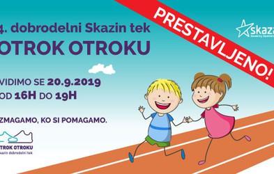 Skazin tek: Otroci iz vse Slovenije bodo s tekom pomagali svojim vrstnikom v stiski