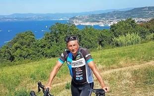 Predsednik Pahor s kolesom iz Ljubljane v Umag