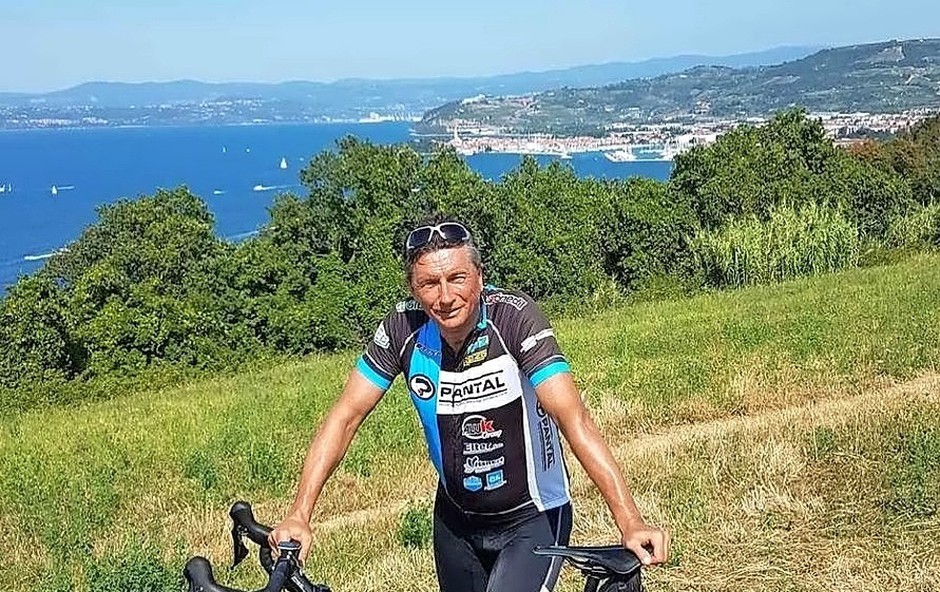 Predsednik Pahor s kolesom iz Ljubljane v Umag (foto: Instargram)