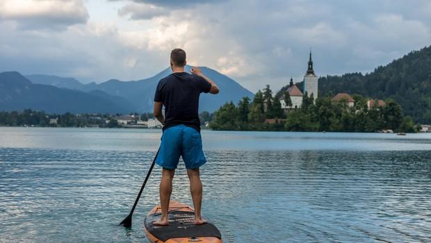 Kje v Sloveniji lahko SUPate (foto: Profimedia)