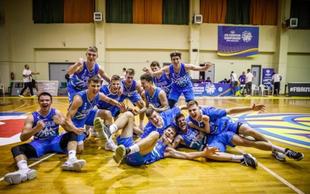 Slovenski košarkarji do 18 let tretji v Evropi