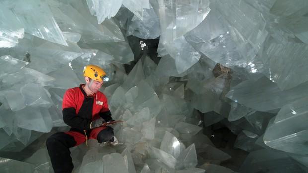 V Španiji zdaj dostopna največja kristalna jama na svetu (foto: Profimedia)