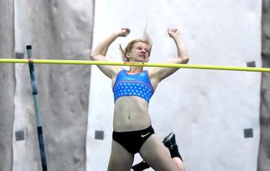 Tina Šutej postavila nov slovenski rekord v skoku s palico