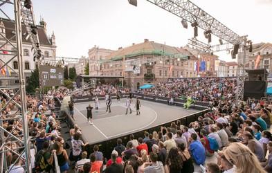 3 na 3: vroči košarkarski dvoboji sredi Ljubljane