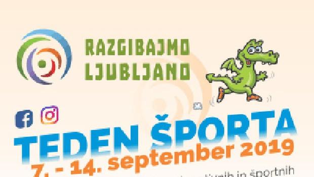 Ne zamudite ljubljanskega Tedna športa! (foto: Promocijsko gradivo)