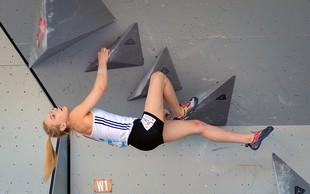 Janja Garnbret ob 9:45 v finalu balvanskega plezanja na SP v Hačiodžiju