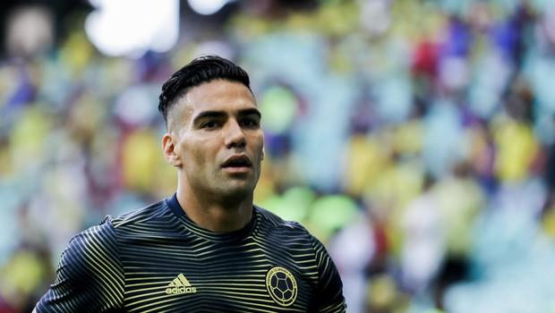 Ponedeljkov lepotec: Radamel Falcao - eden najboljših nogometašev Kolumbije (foto: Profimedia)