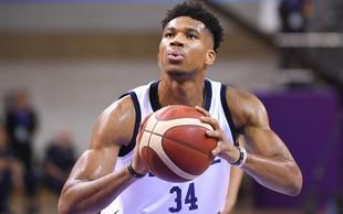 Največje zvezde SP v košarki bodo evropski NBA igralci - Antetokounmpo, Jokič in Gobert