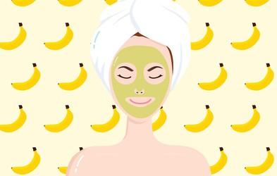 3 doma pripravljene bananine maske za različne tipe kože
