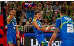 Zmagovalna norija v Stožicah: Slovenija je v polfinalu! V četrtek igra s Poljsko!