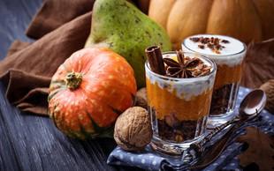 Jesenski zajtrk za čez noč: Kosmiči z bučo in orehi