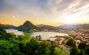 Ideja za vikend izlet: Šarmantni Lugano in čudovito Lugansko jezero