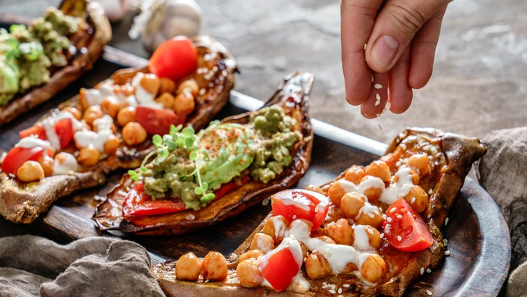 Ideja za slasten prigrizek - za vse, ki ne jeste kruha (foto: Shutterstock)